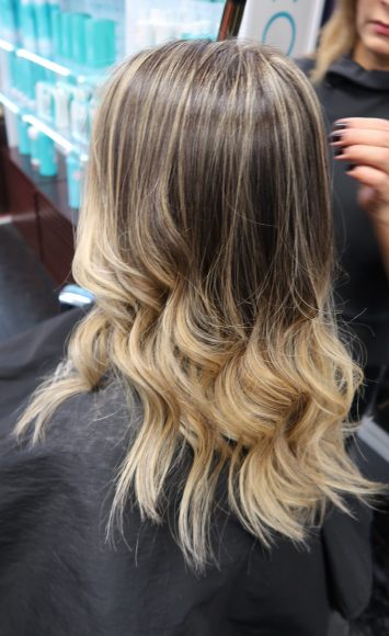 Blonde Balayage Bergen County Bergenfield Tenafly Cresskill Dumont Healthy Hair Haircut Color Color specialists Loreal